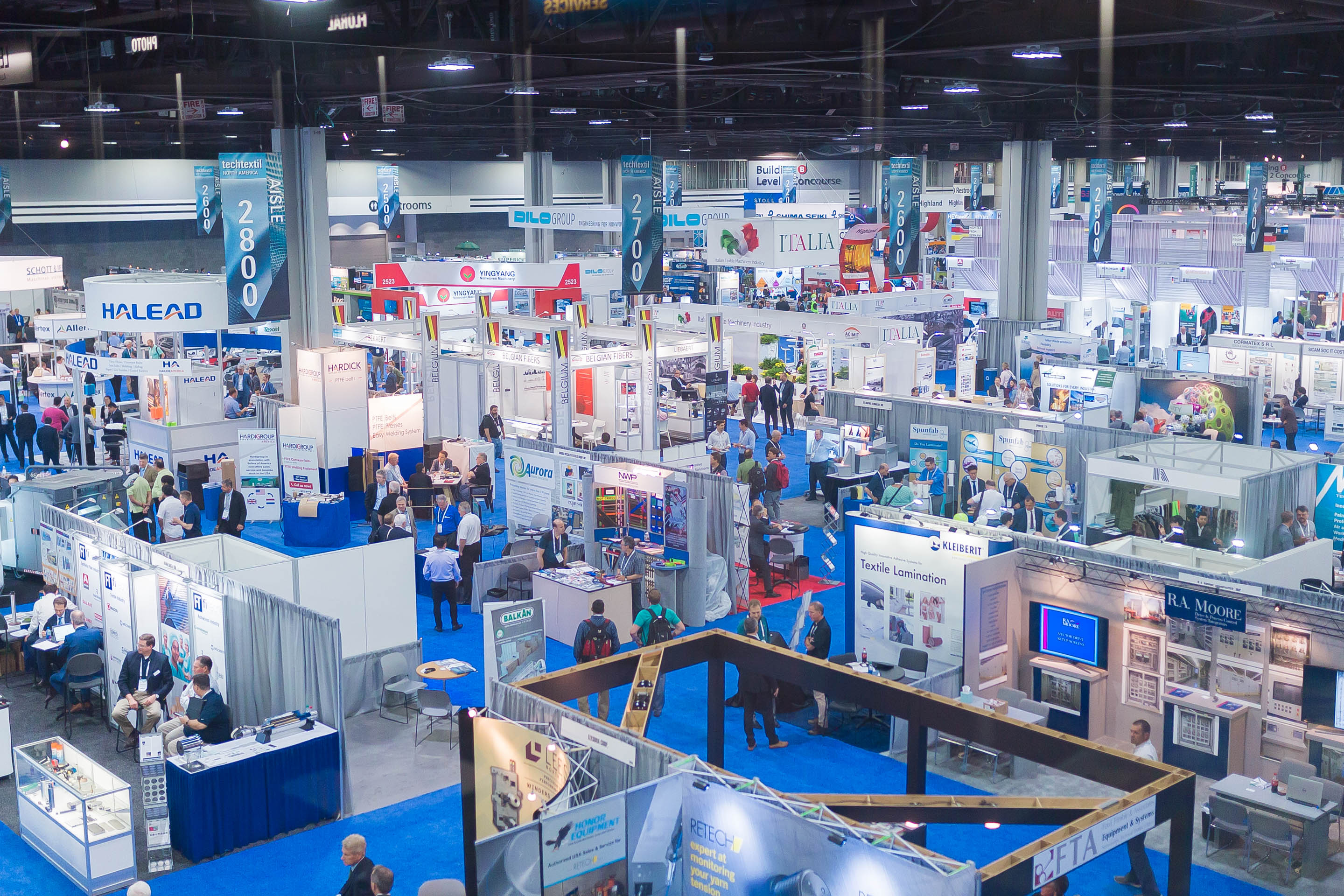 Techtextil North America - Exhibitor Services